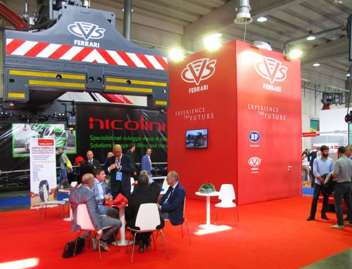 LIVE FROM CVS FERRARI STAND AT GIS EXHIBITION IN PIACENZA (ITALY)