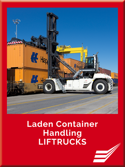 Laden Container Handling LIFTRUCKS