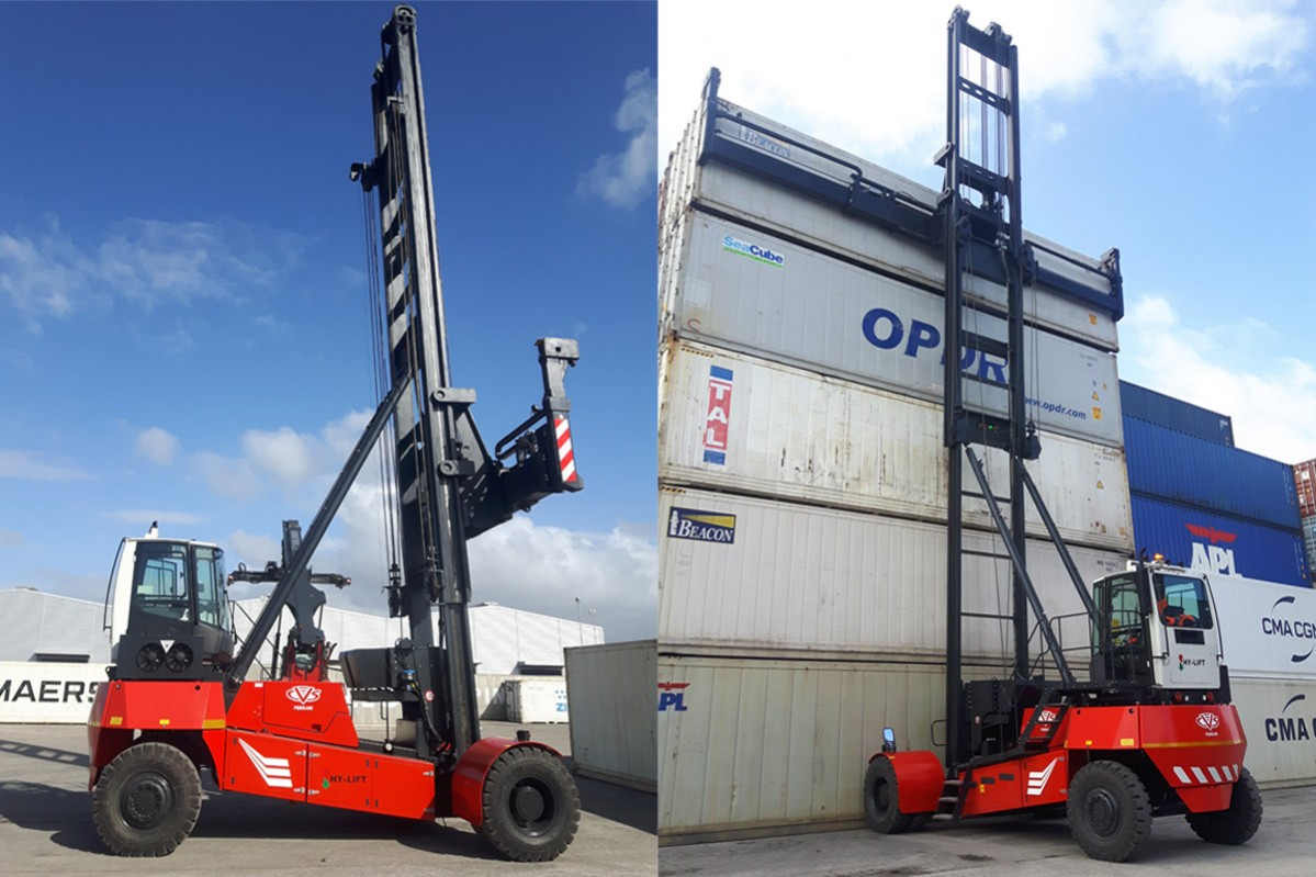 CVS FERRARI - FIRST PRODUCTION HY-LIFT DELIVERED