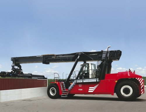 CVS FERRARI DELIVERS GIANT REACH STACKERS TO PORT AUTHONOME DE STRASBOURG