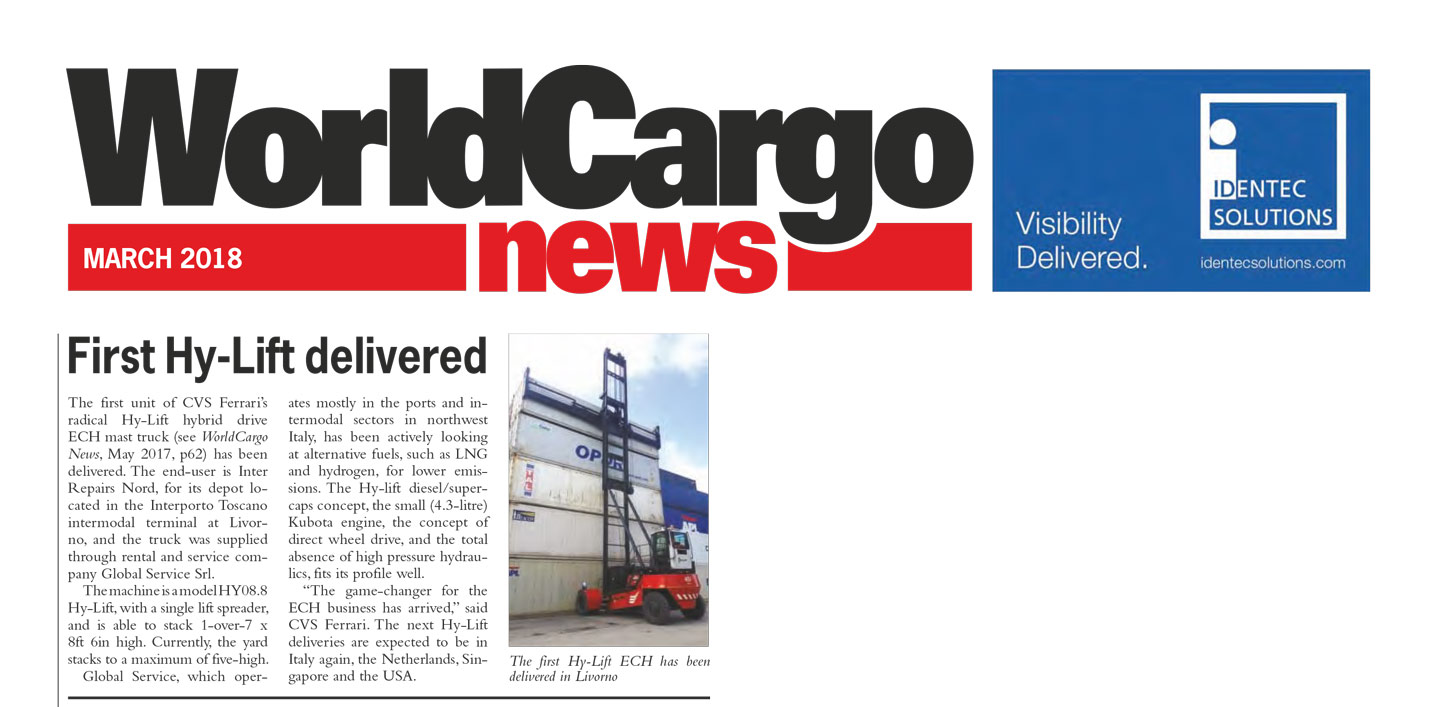 WorldCargo News - First hy-lift delivered