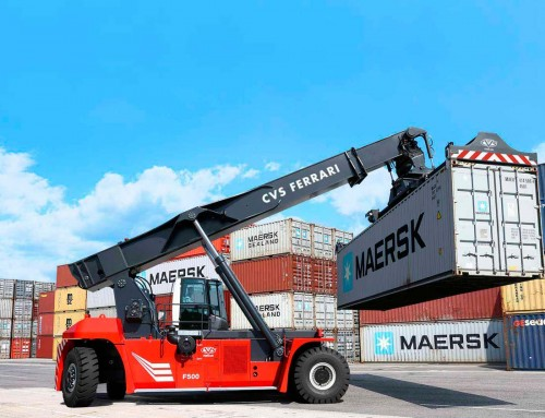 TEN NEW CVS FERRARI REACH STACKERS FOR TRIESTE MARINE TERMINALS