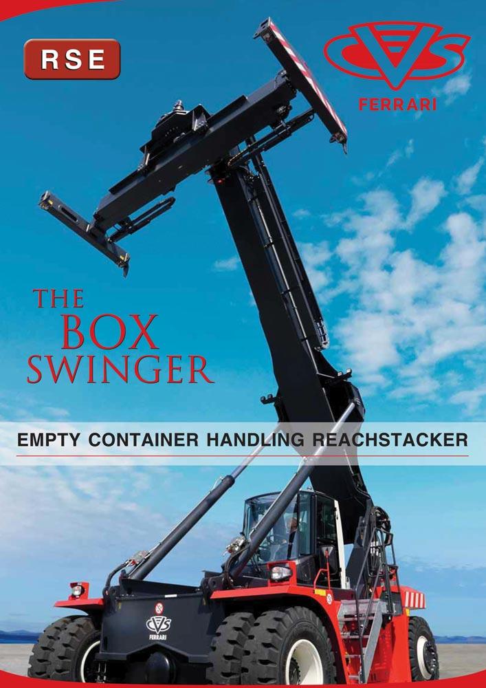 CVS FERRARI - Empty Container Handling Reachstacker - Catalogue