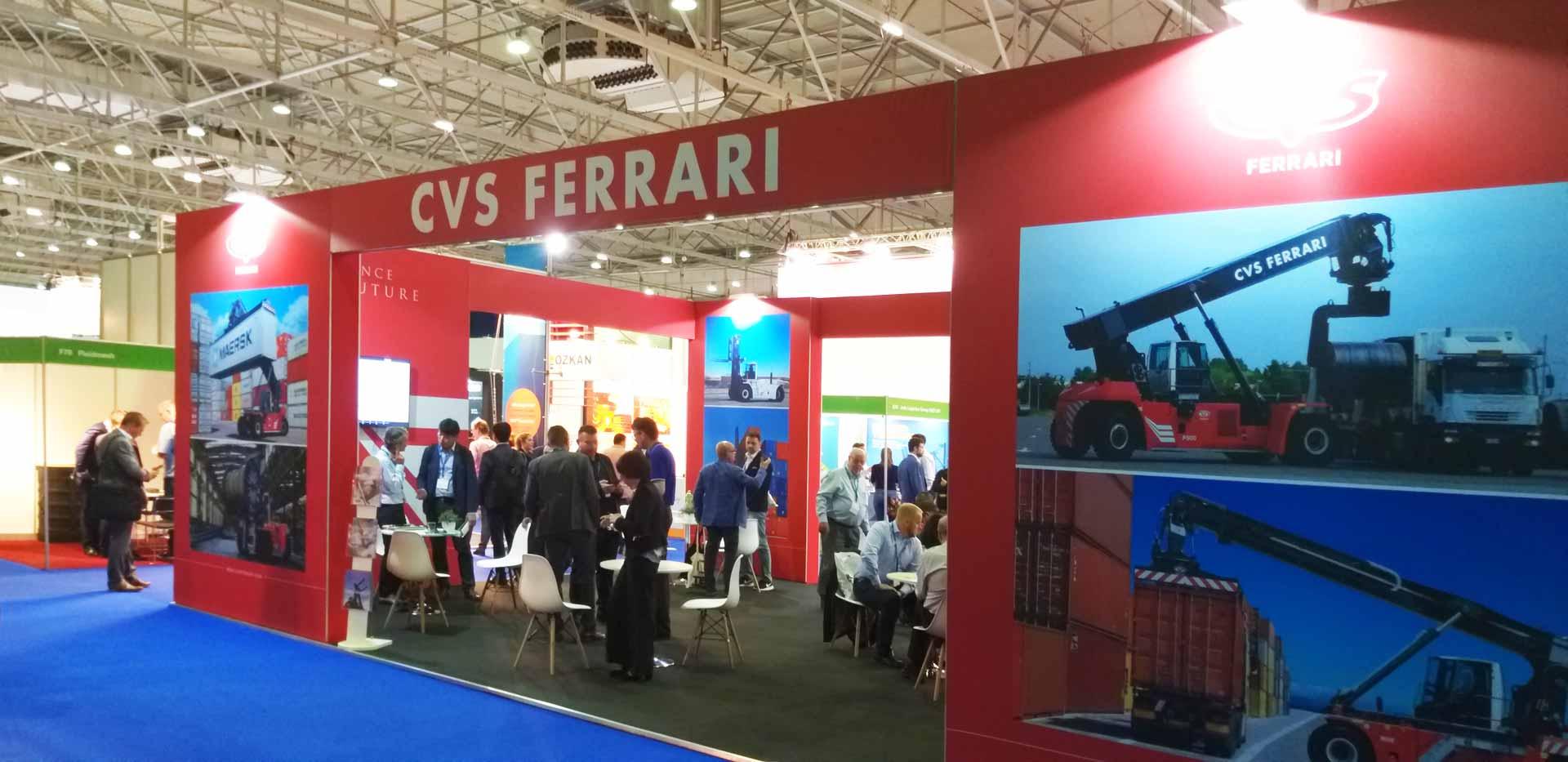 CVS ferrari - live from TOC europe 2019