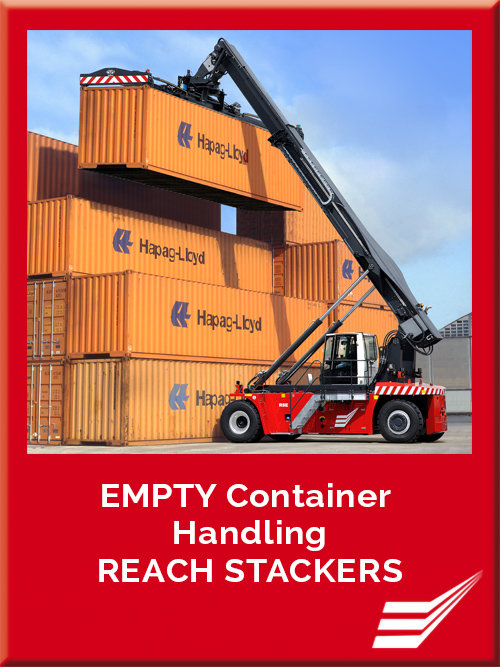 CVS FERRARI - RSE - REACH STACKERS