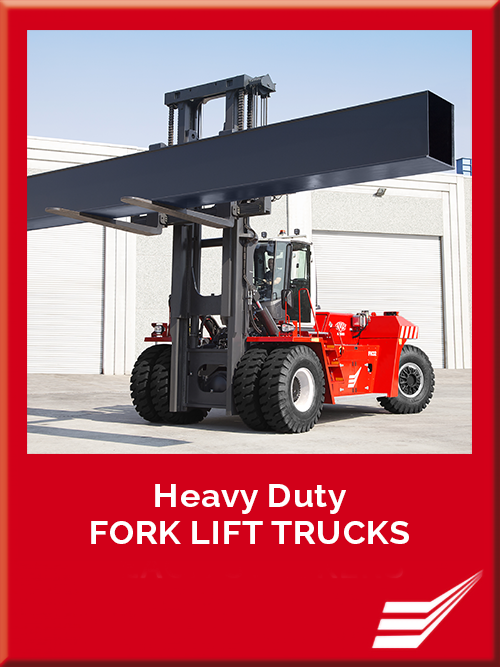 CVS Ferrari - Heavy Duty FORK LIFT TRUCKS